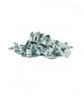 Pack of 25 round base T-nuts