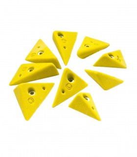 Set of 9 holds Triangles (Size M)