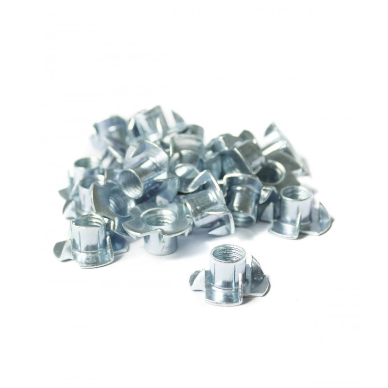 Pack of 25 Prong T-nuts