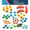 Set of 115 holds Evolution (up to size XL)