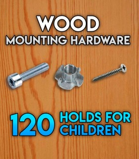Pack of mounting hardware for the Set of 120 beginner holds