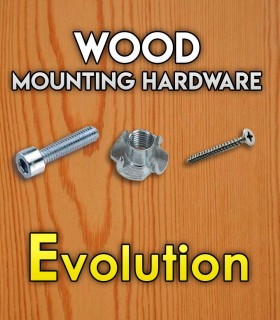 Pack of mounting hardware for the Set Evolution
