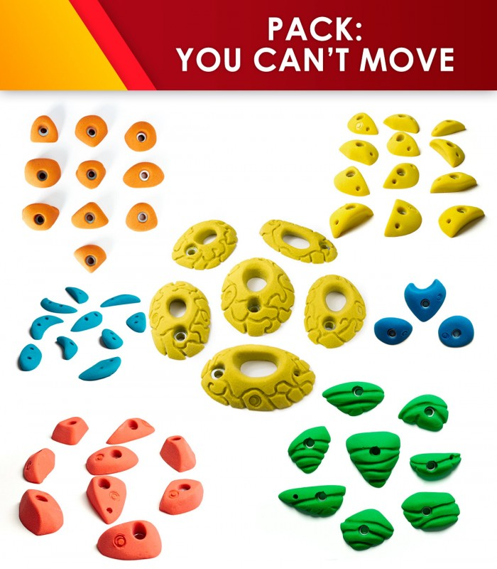 Set of 56 holds you can´t move!!