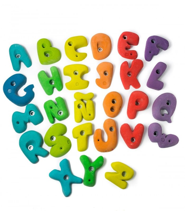 Set of 60 holds for Children and Beginners